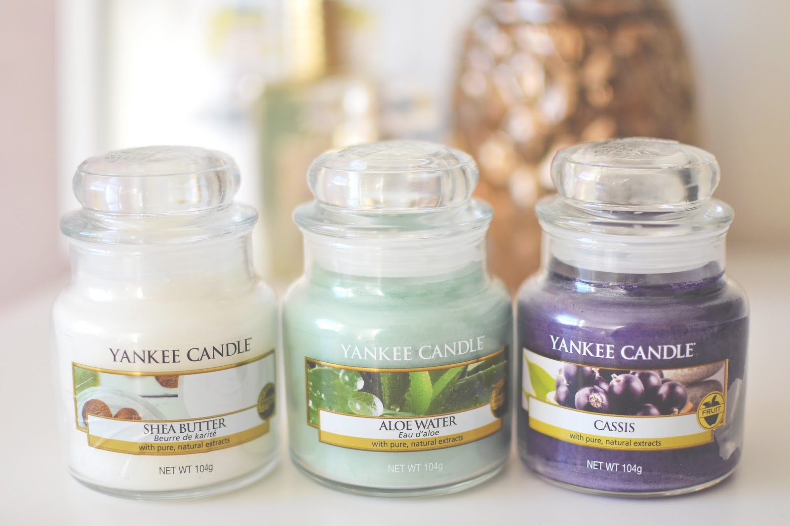 Yankee candle, Yankee candle spring, yankee candle Pure Essence Collection