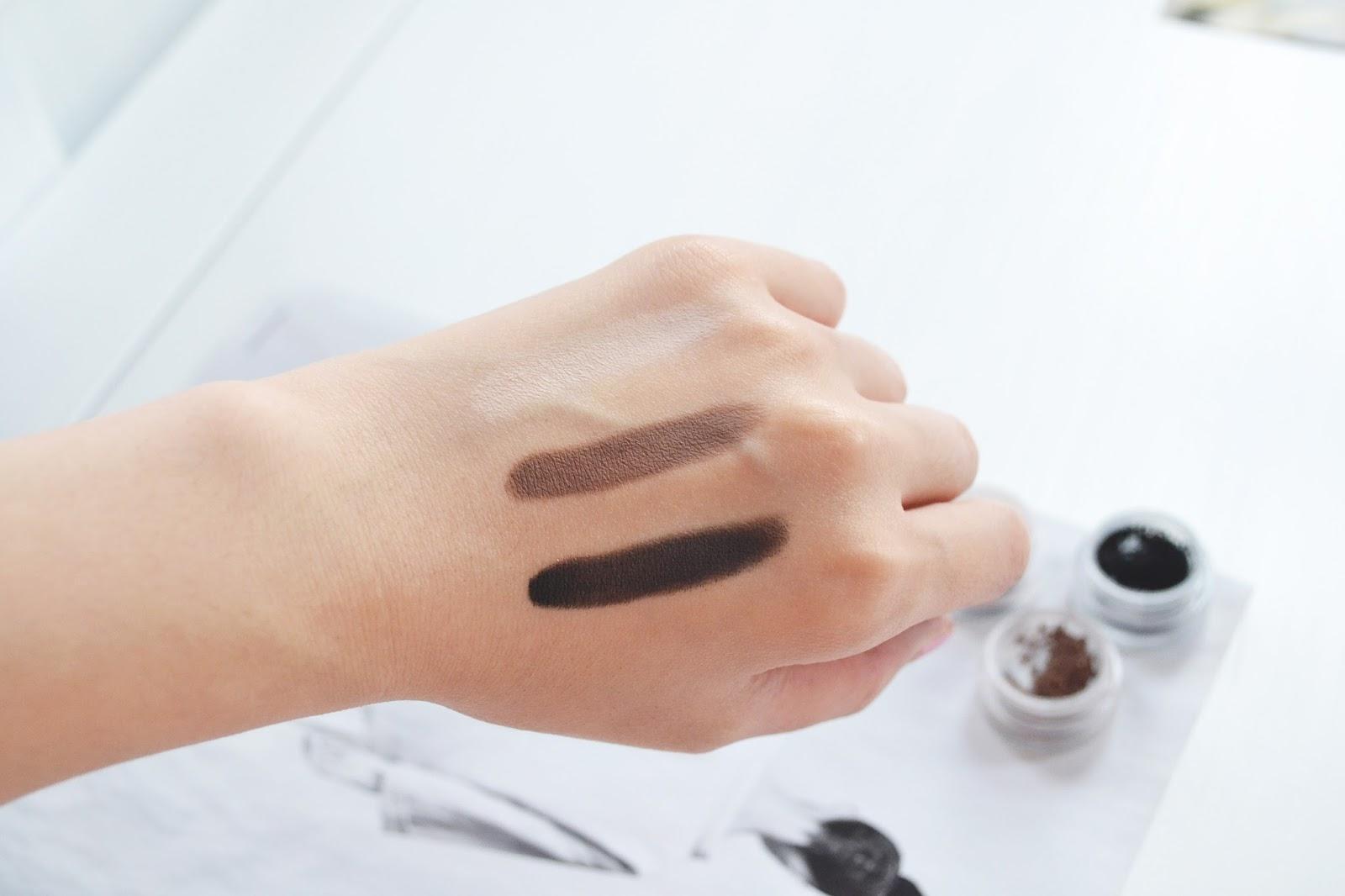 organic make up, mineral eyeshadow, black eyeshadow