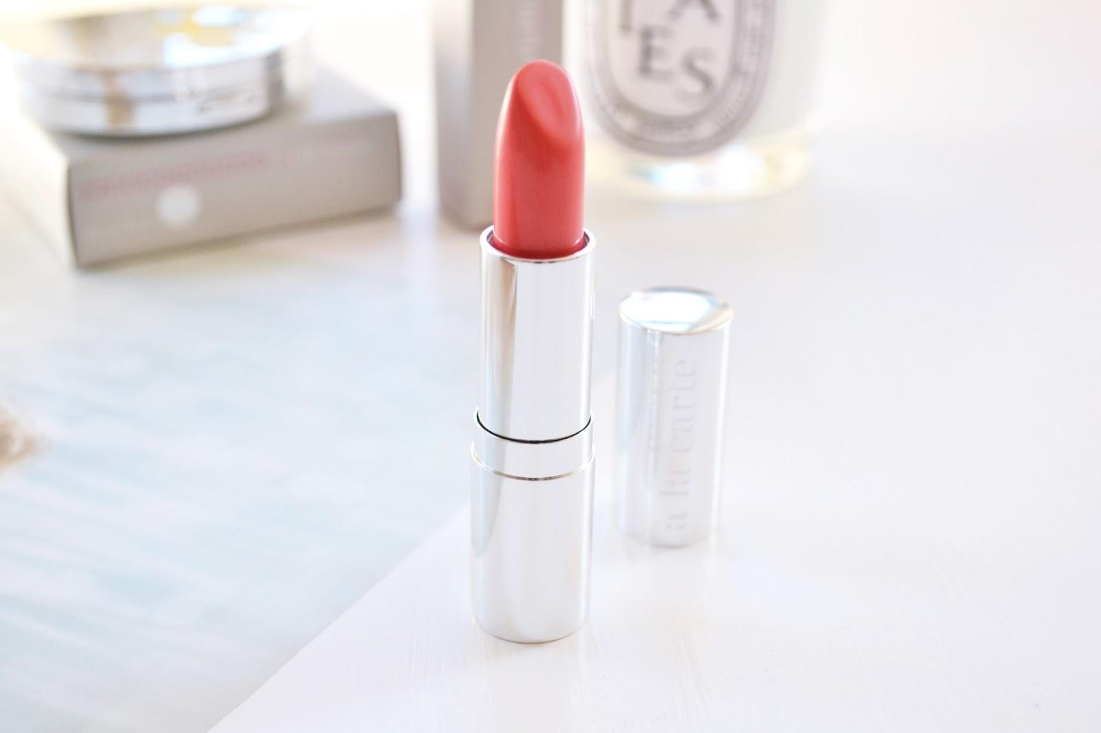 a la carte lipstick, coral lipstick