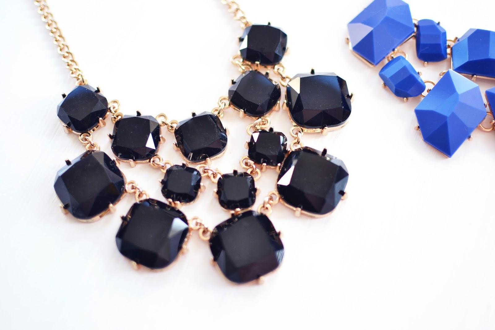 lidl fashion range, affordable statement necklace, statement necklaces