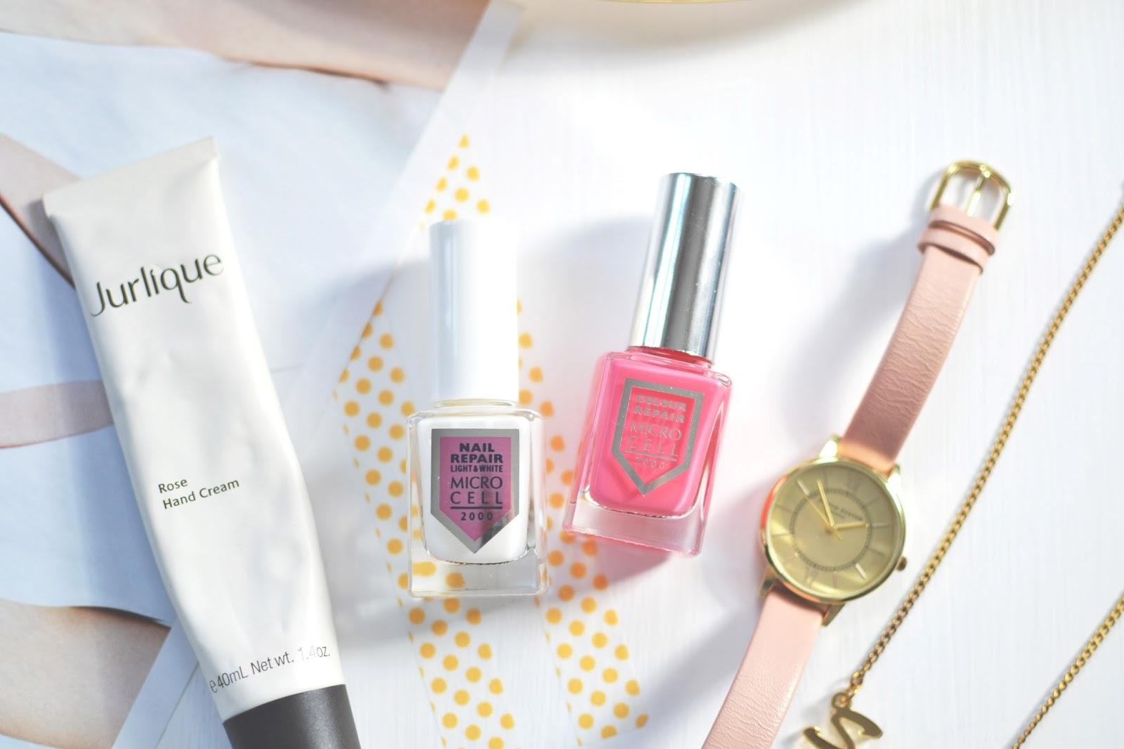 microcell nail polish, nail repair