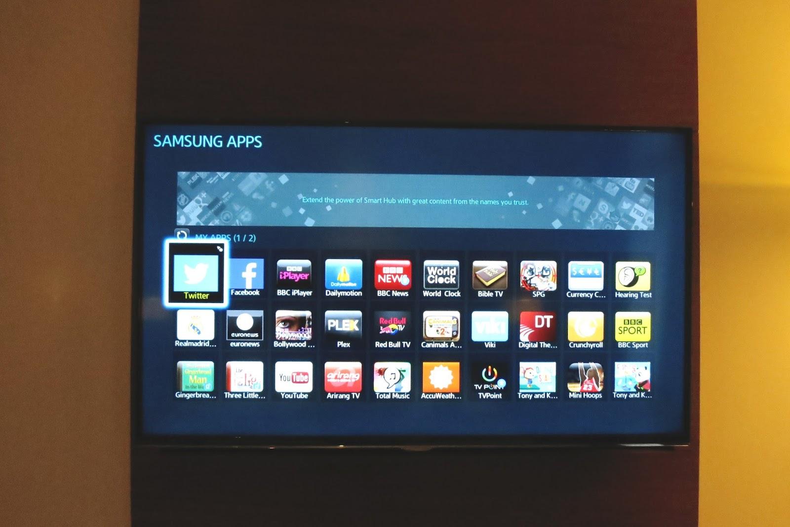 smart tv, samsung smart tv