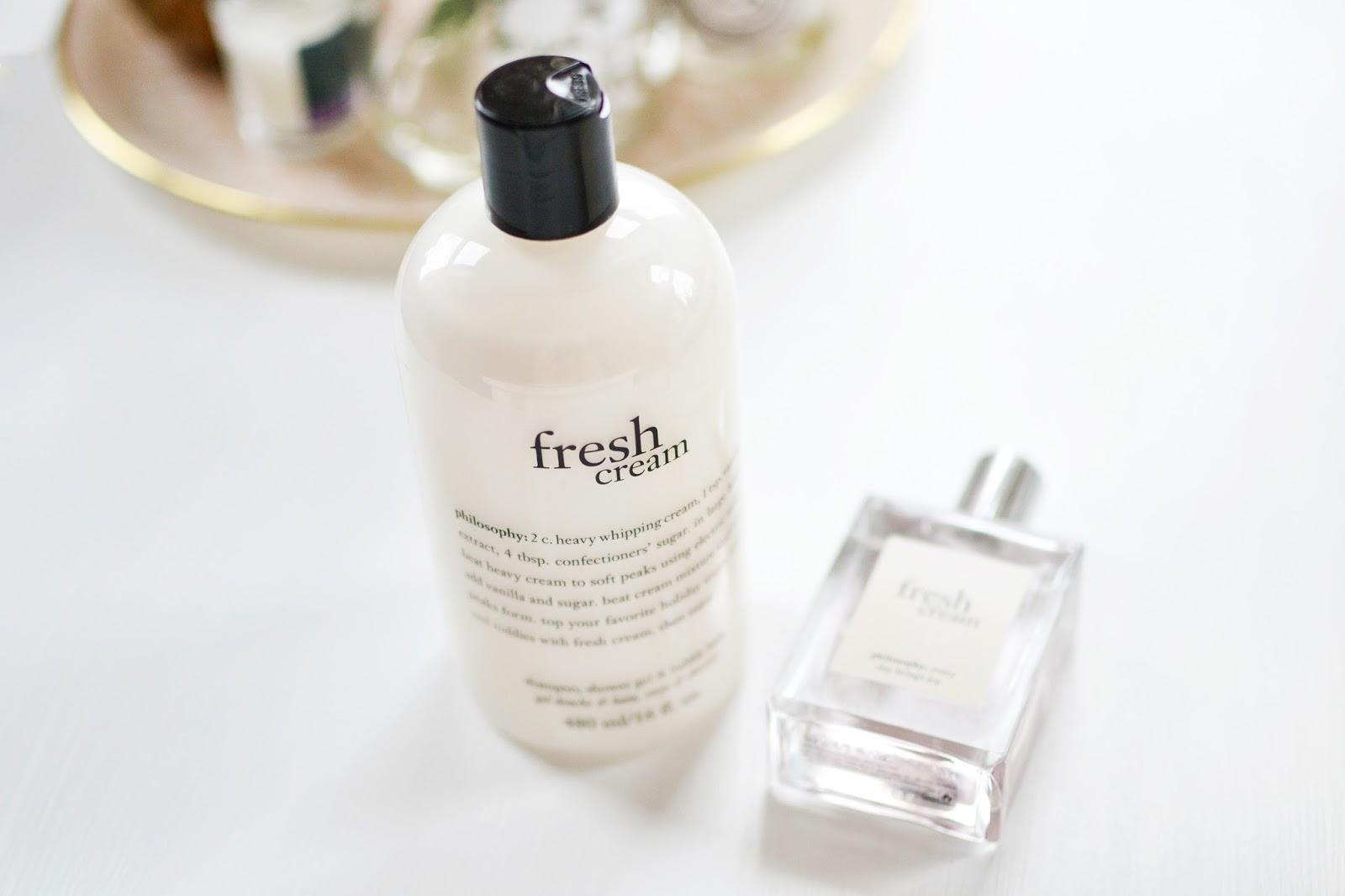 philosophy fresh cream shower gel