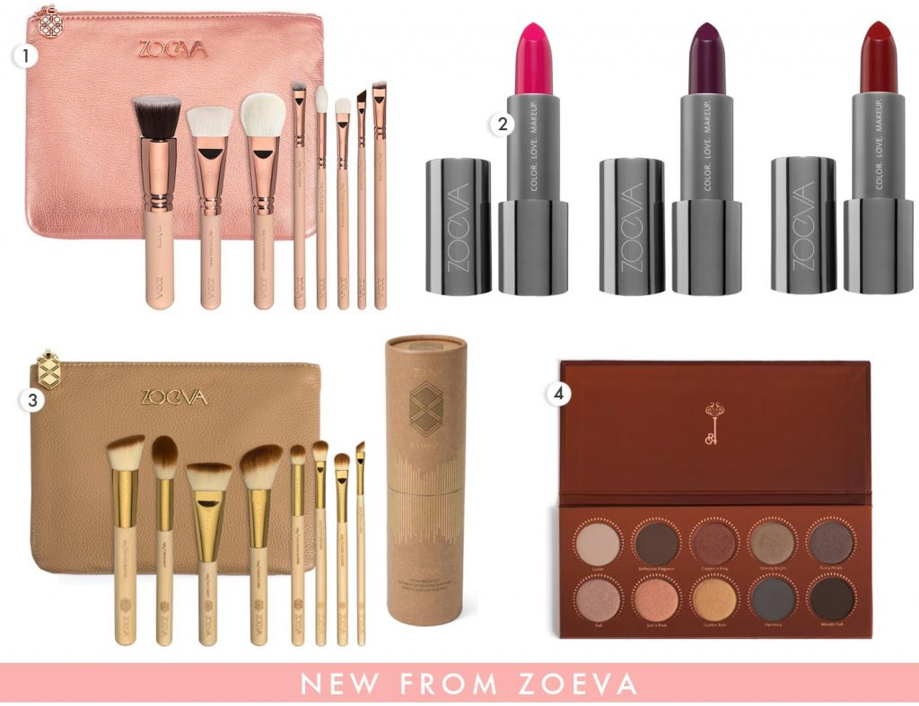 New beauty products from Zoeva 2015