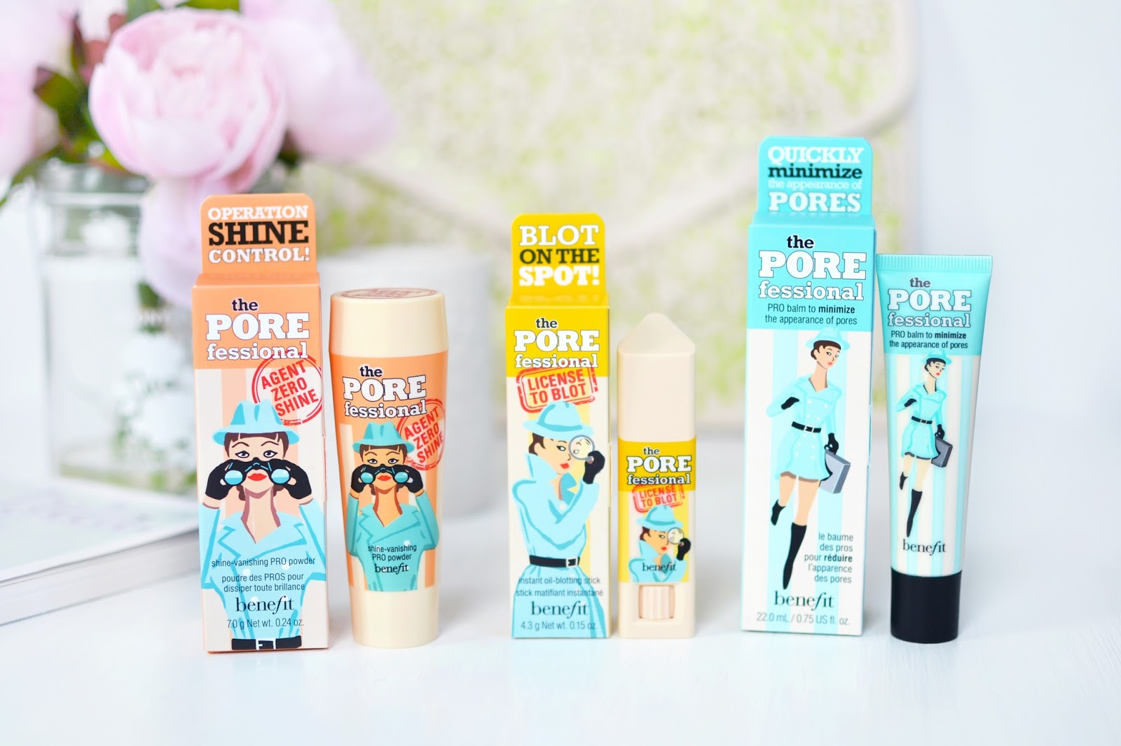 porefessional products from benefit