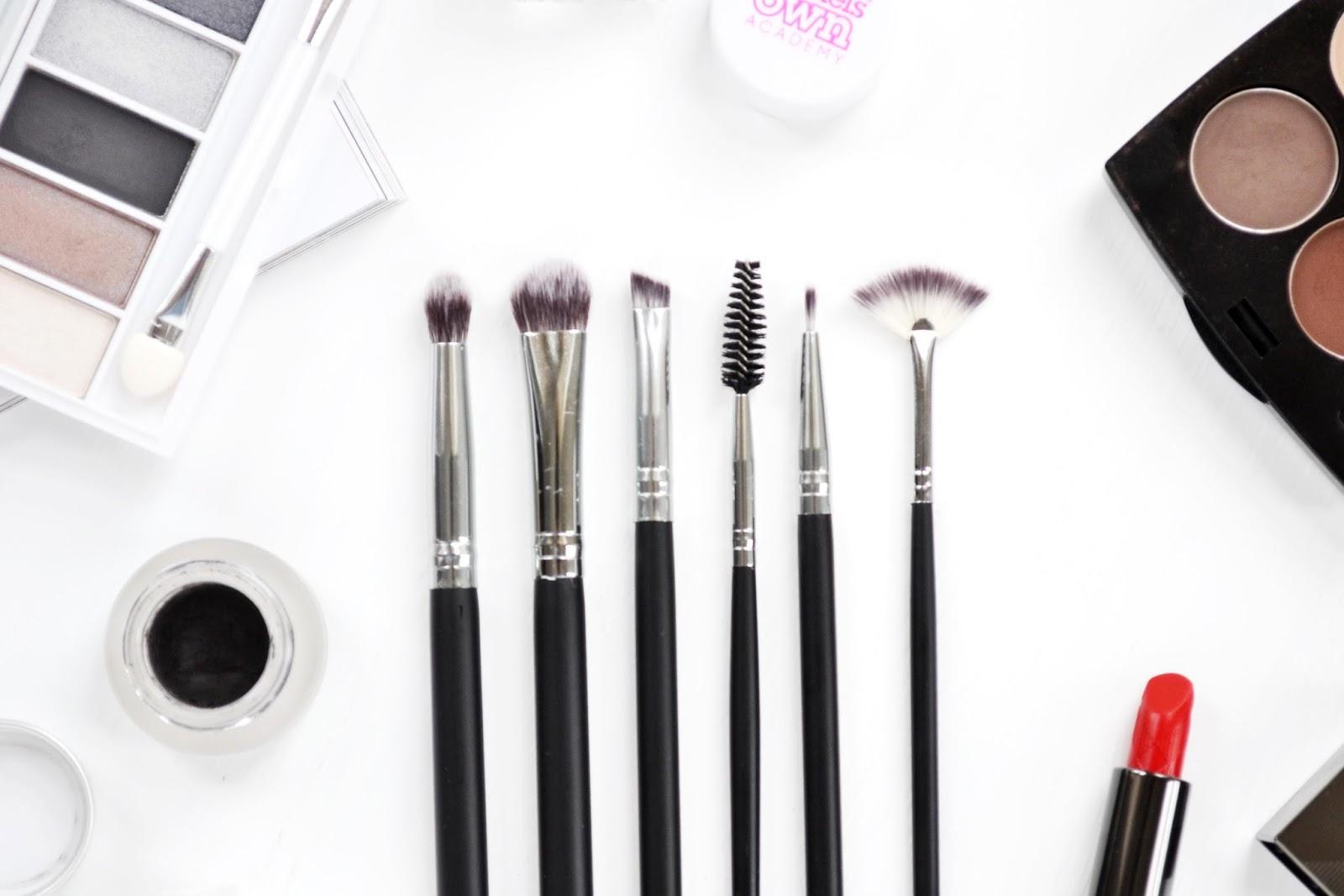 crownbrush brush set for eye make up