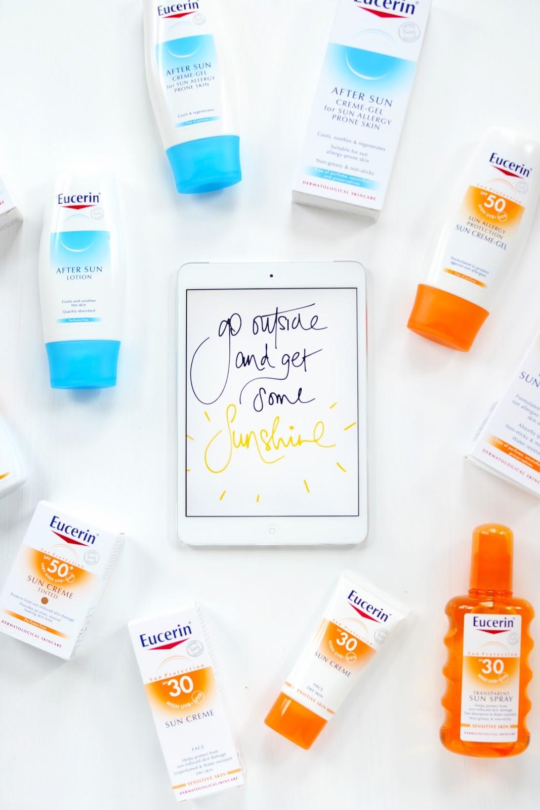 sun care for dry, sensitive skin