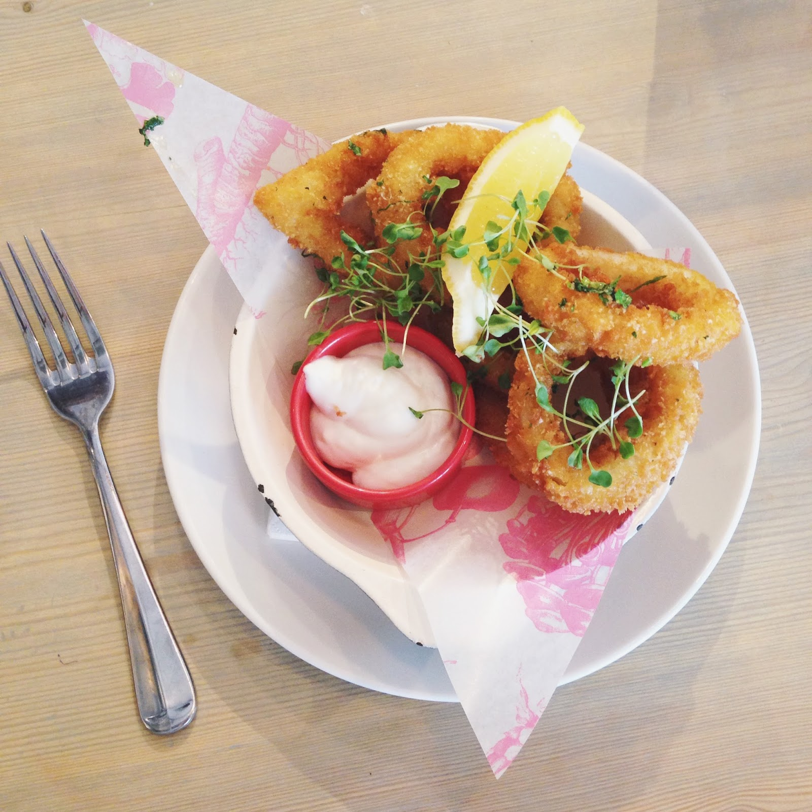 calamari in breadcrumbs