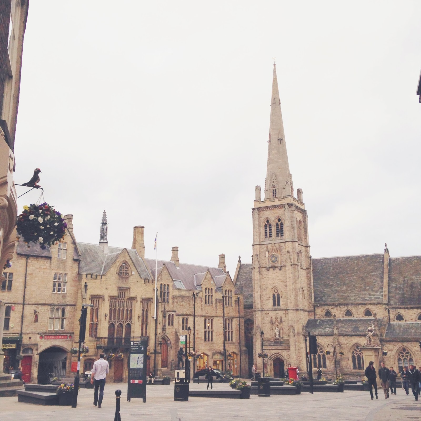 durham city centre, british architecture