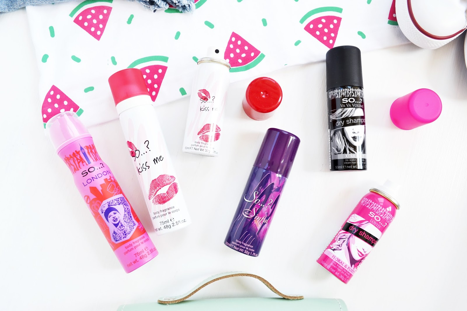 affordable body spray and dry shampoo