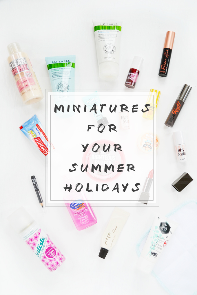Travel Sized Beauty Miniatures