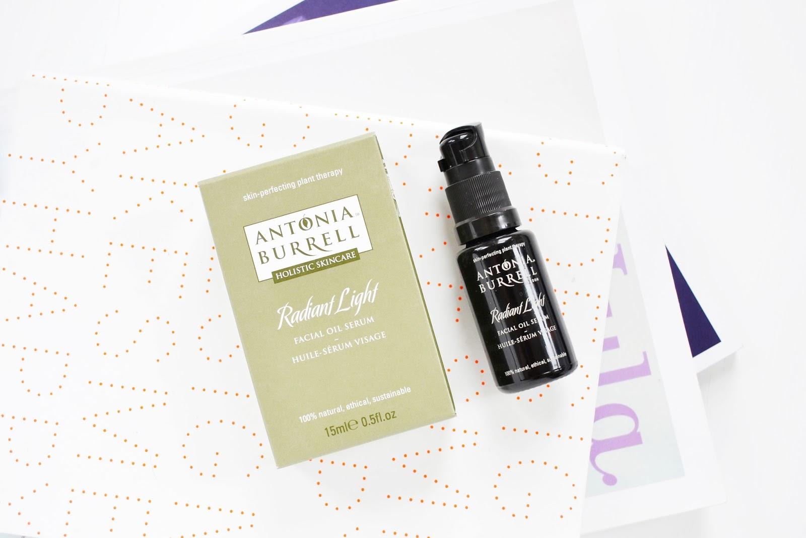 antonia burrell radiant light facial oil
