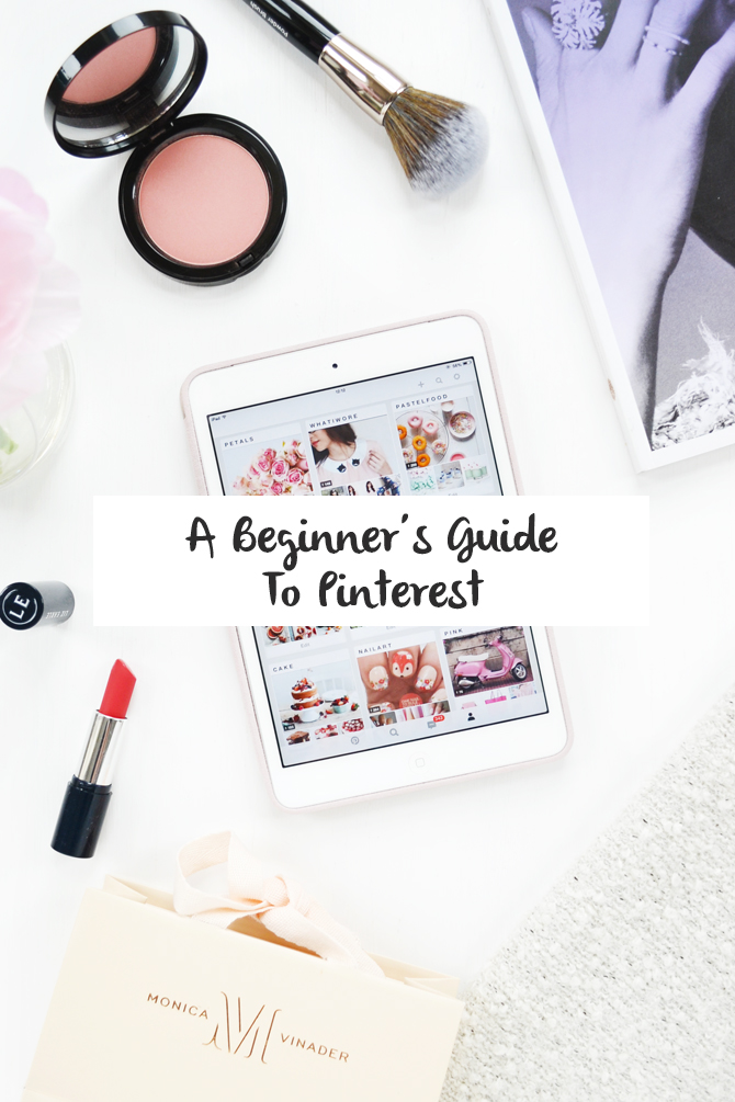 a beginners guide to pinterest