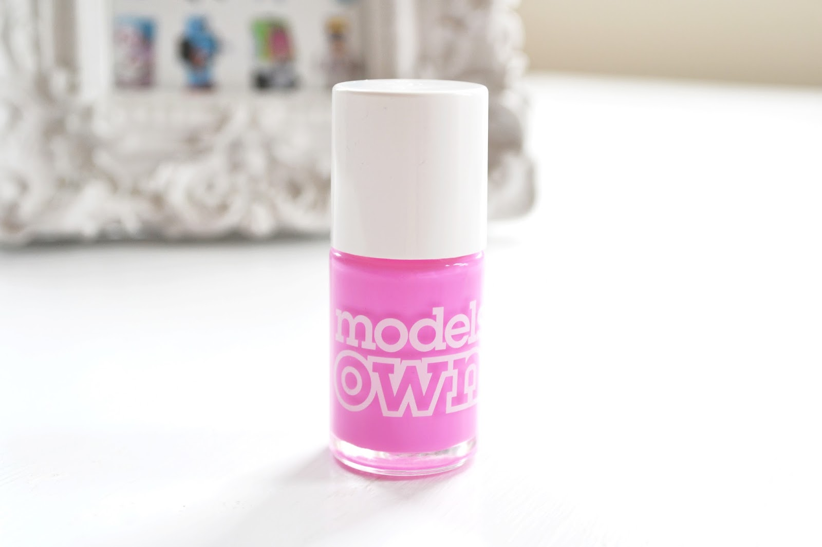 models own malibu pink from polish for tan collection