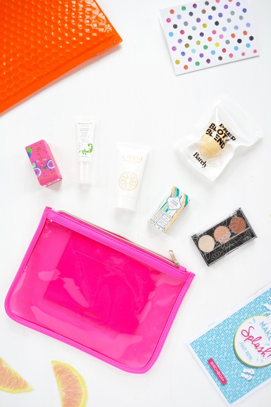 BIRCHBAG Birchbox July 2015