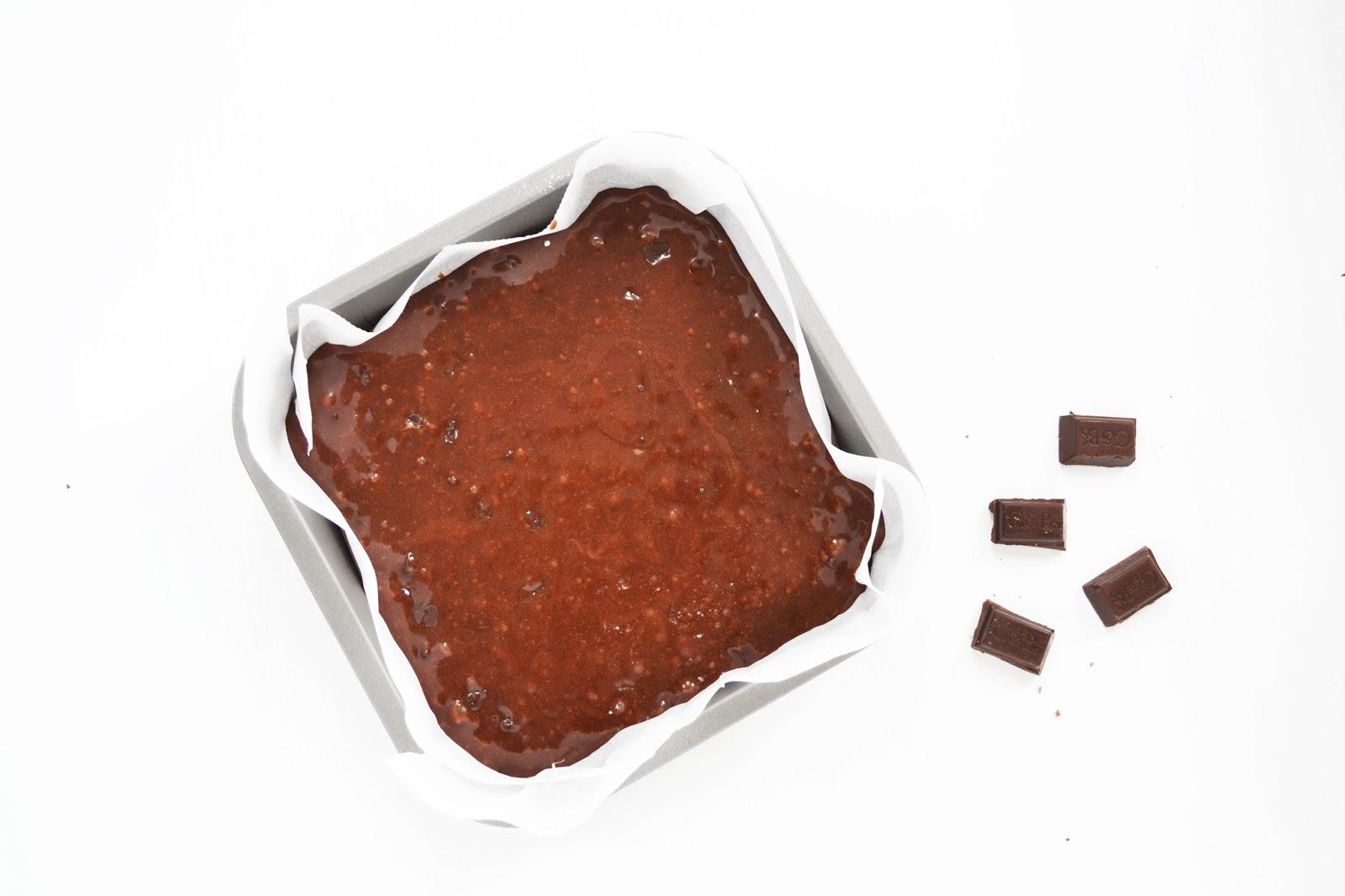 how to bake chocolate brownies