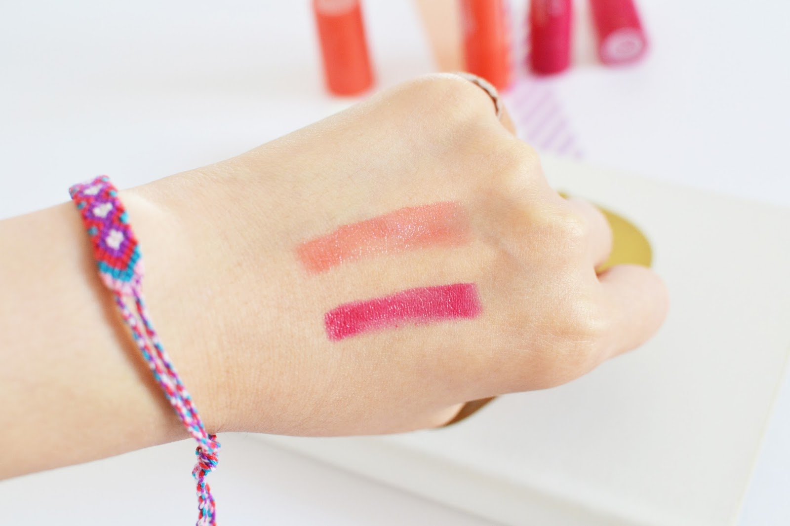 soap and glory Sexy Mother Pucker Gloss Sticks swatch
