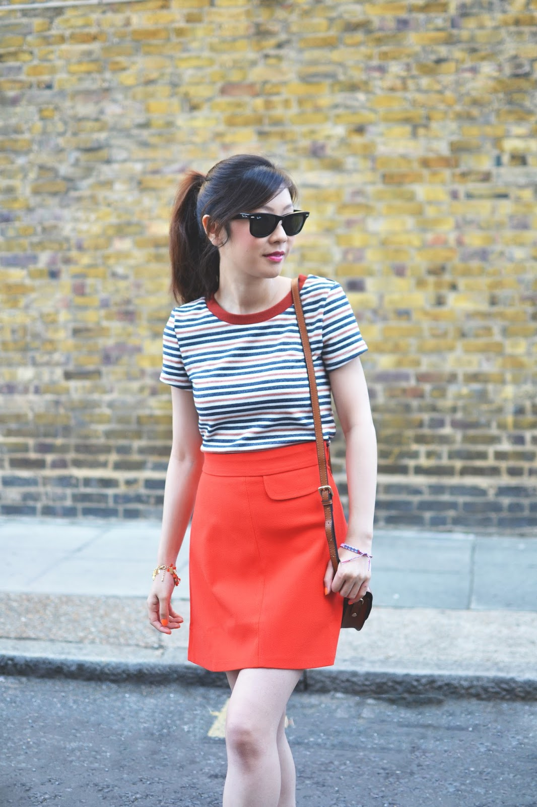 how to style an A-Line skirt, fashion blog uk