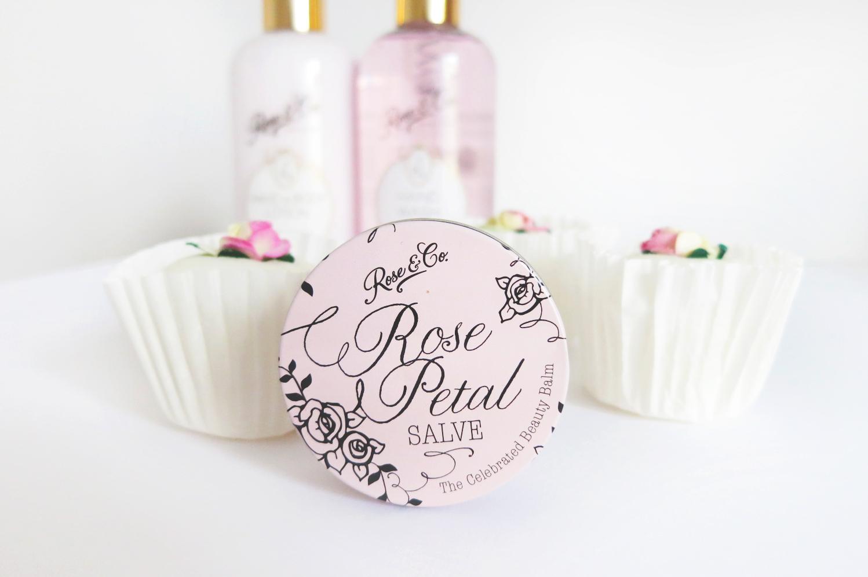 rose scented lip balm