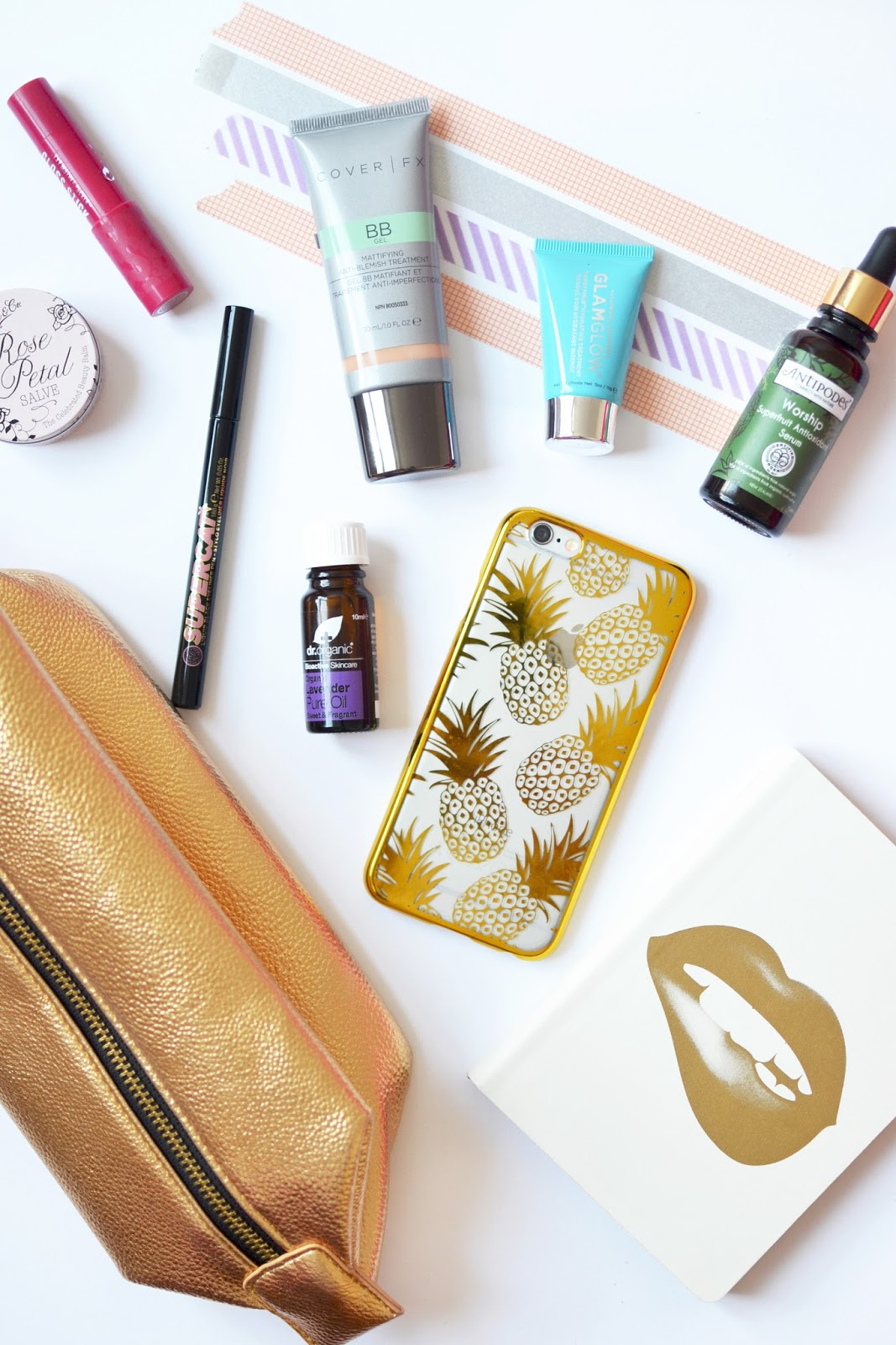 beauty blogger make up bag