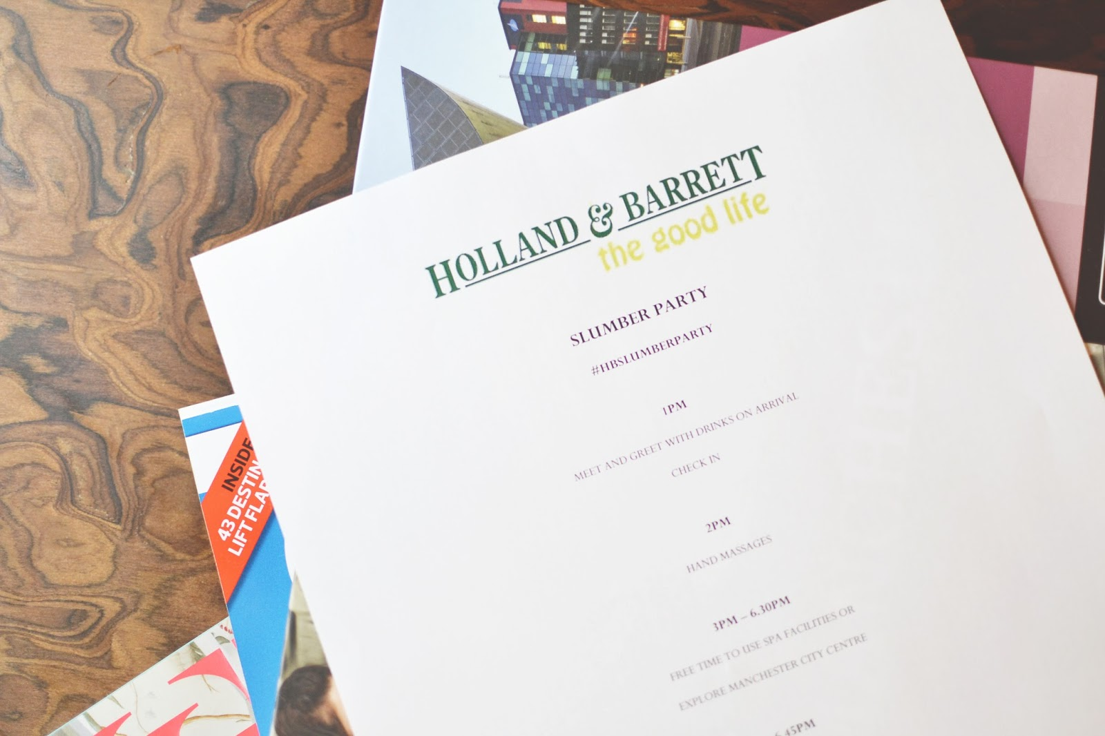 holland and barrett blogger event