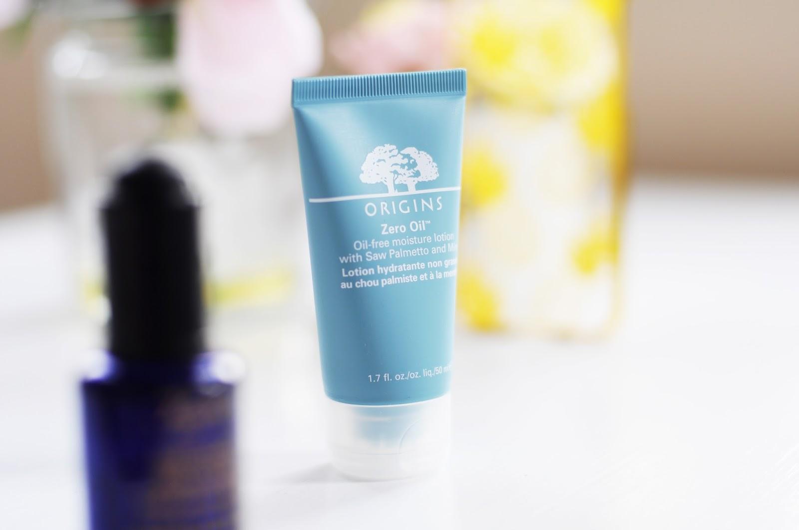 origins zero oil moisturiser