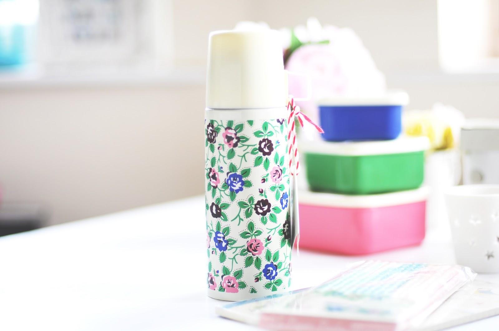 floral flask