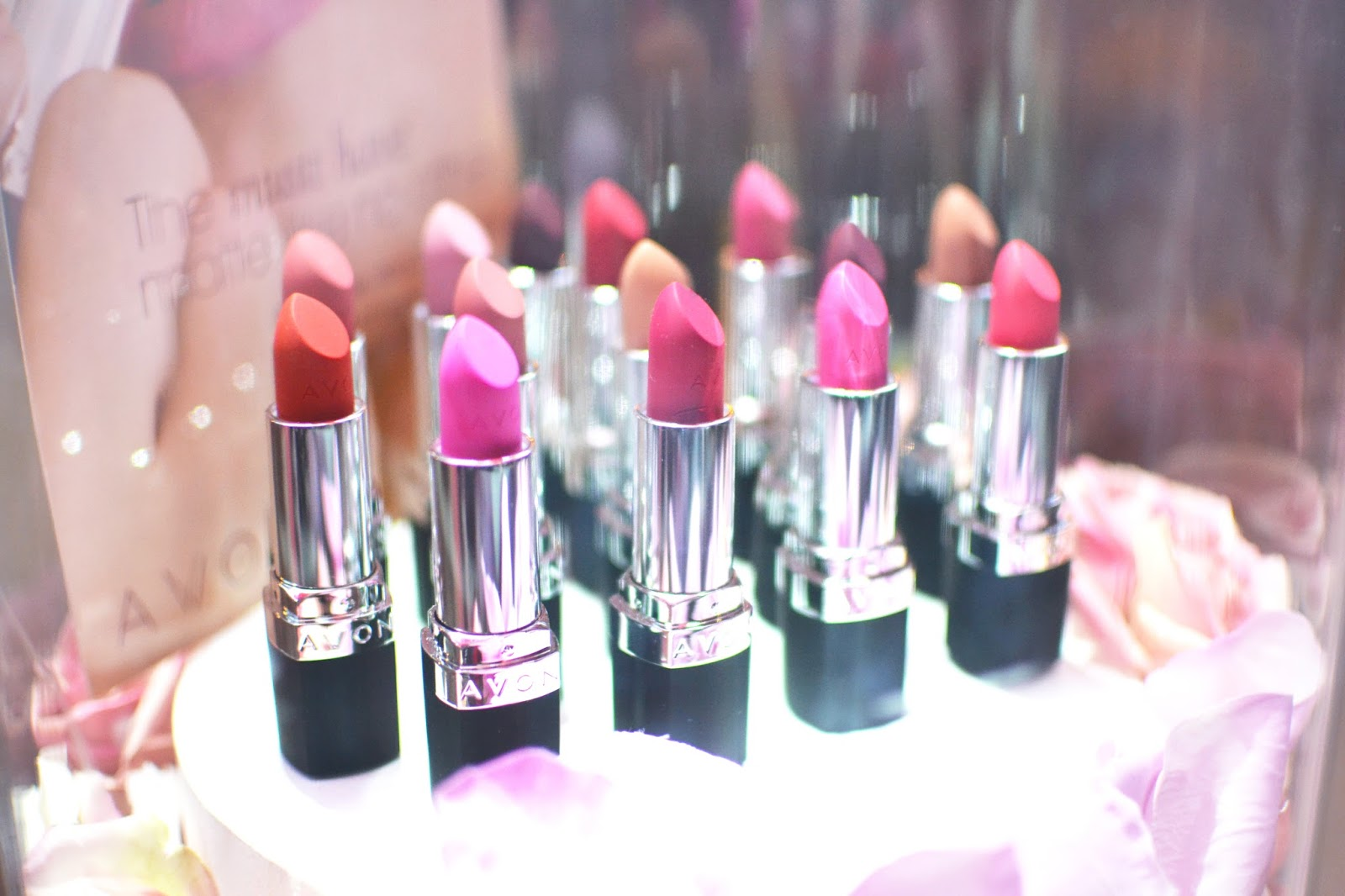 Avon matte lipsticks