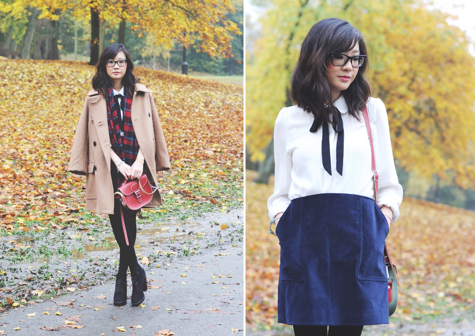 how to style a beige camel coat