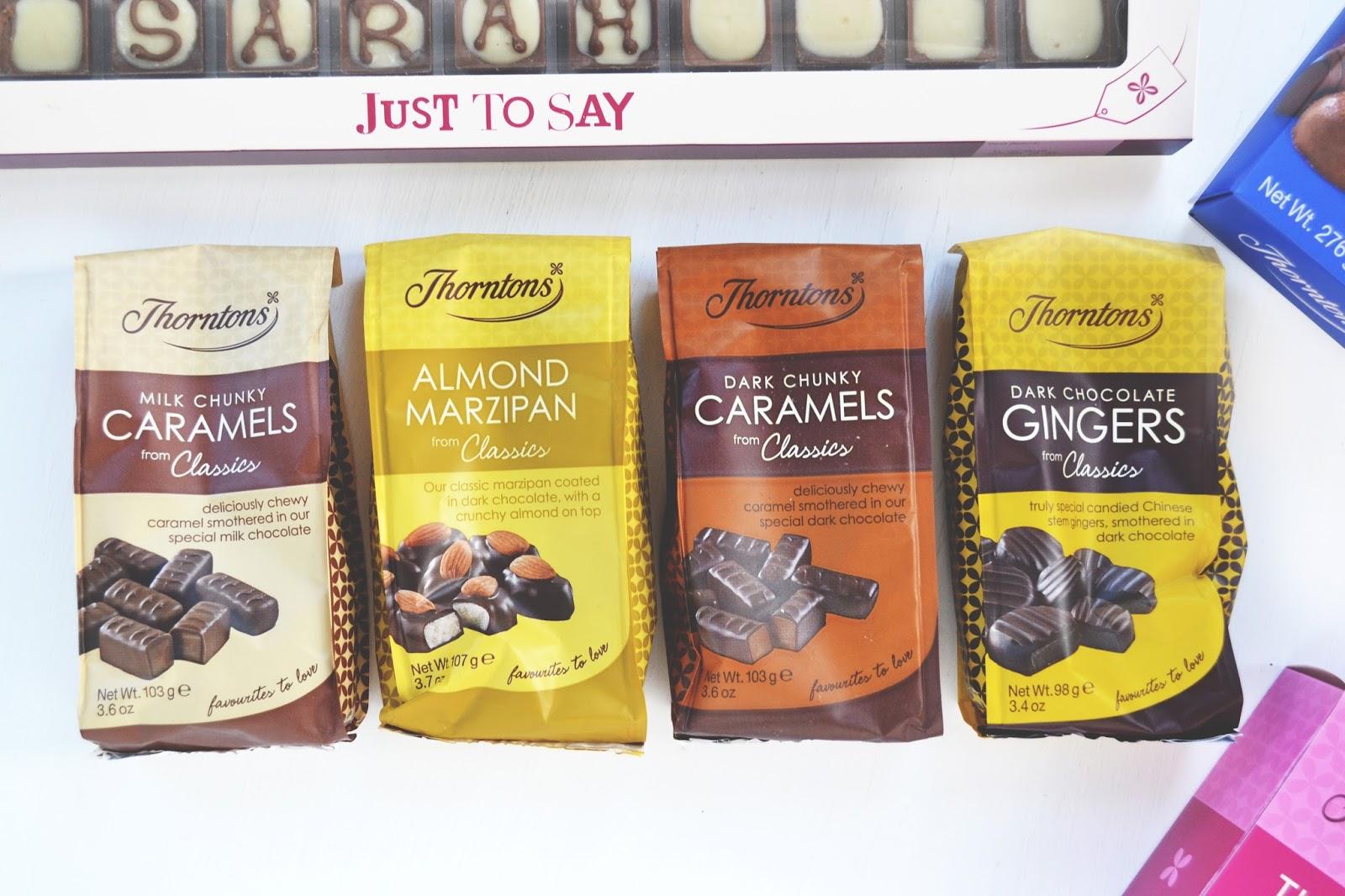 thorntons chocolates gift
