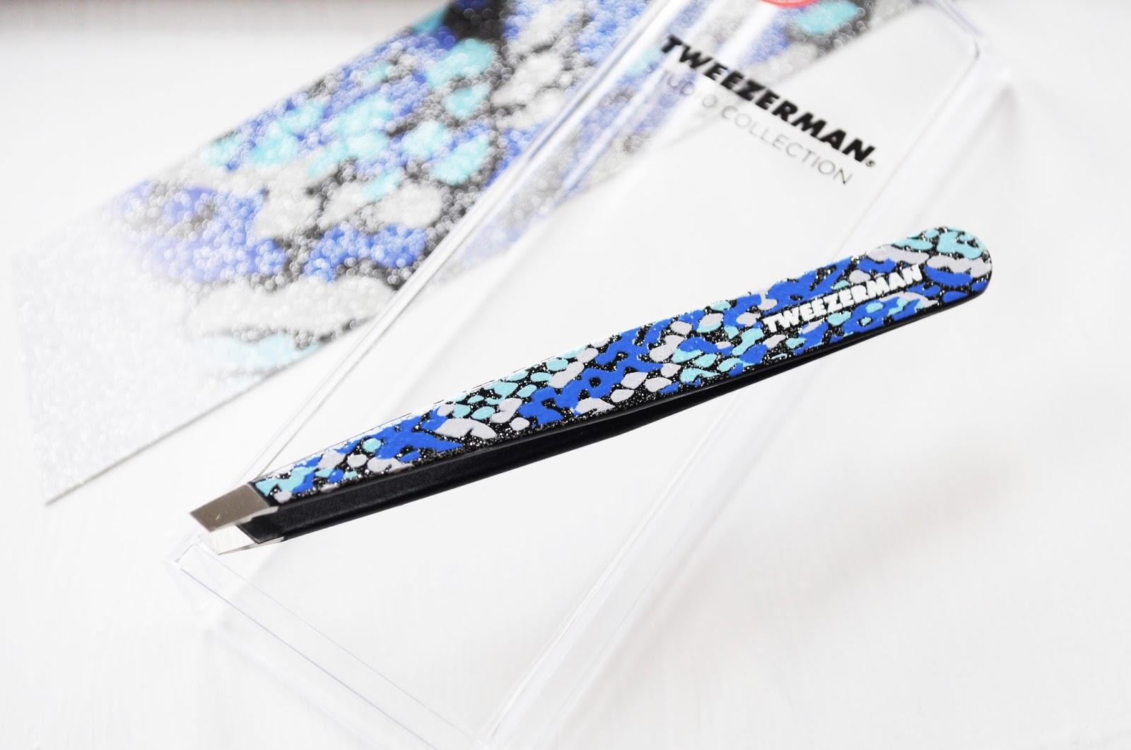 glitterati tweezers from tweezerman