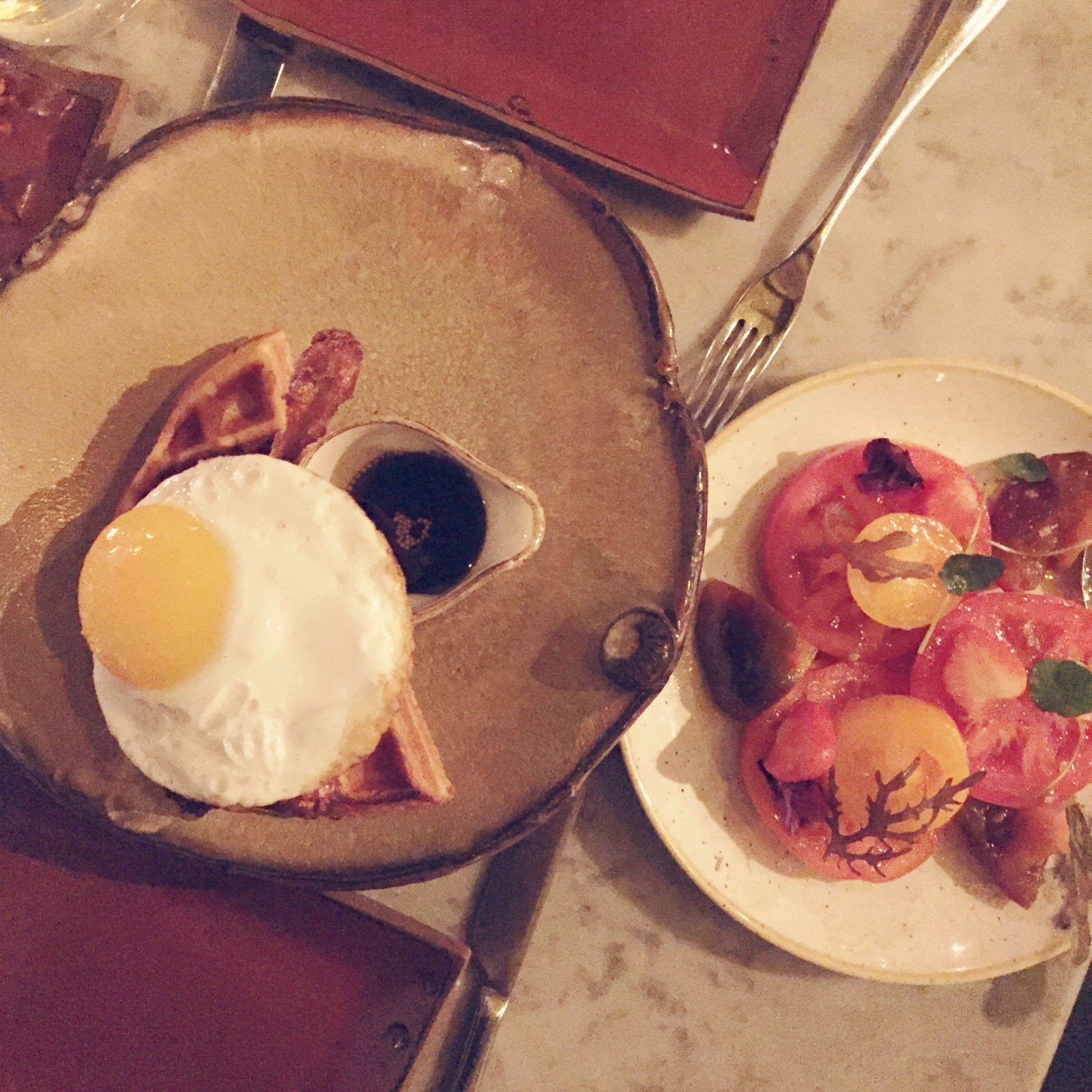 duck and waffle in london
