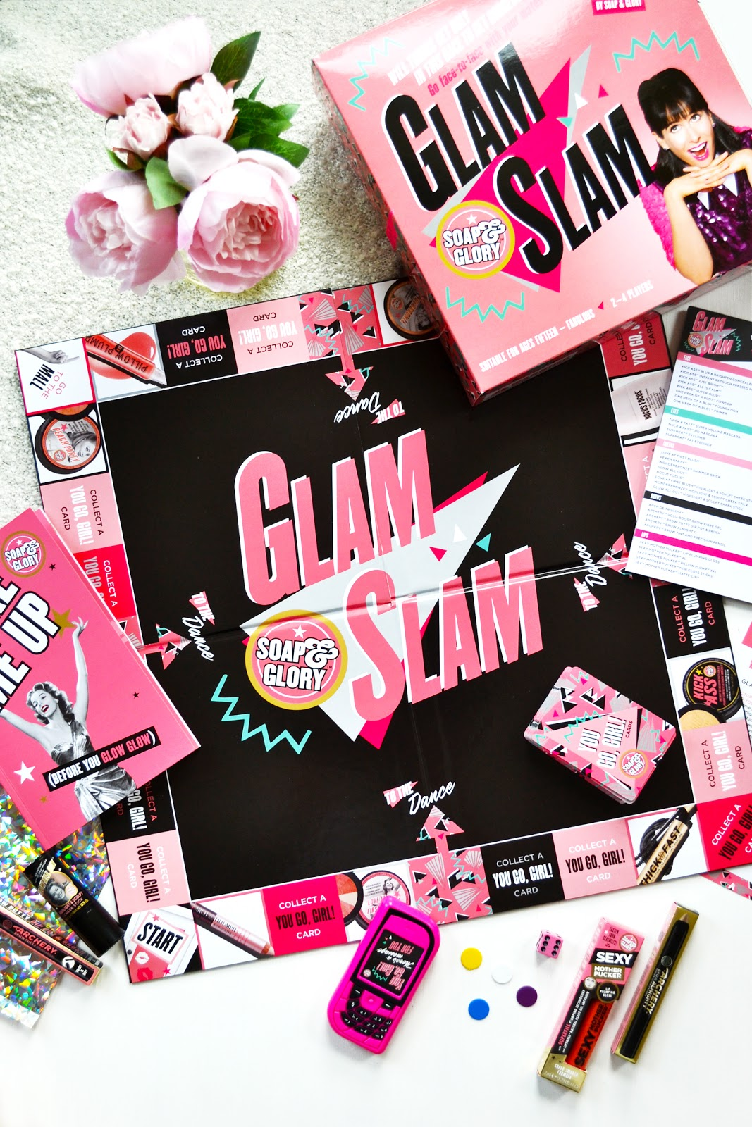 glam slam Soap & Glory's Launching New Cosmetics