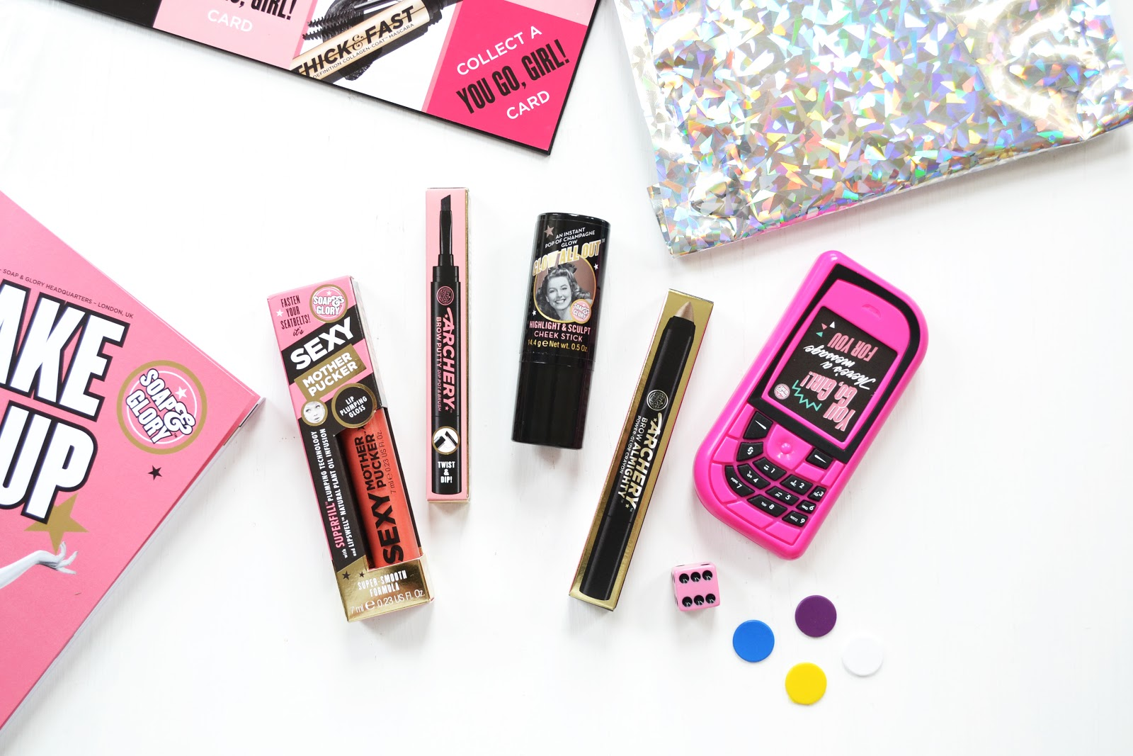 soap and glory make up cosmetics