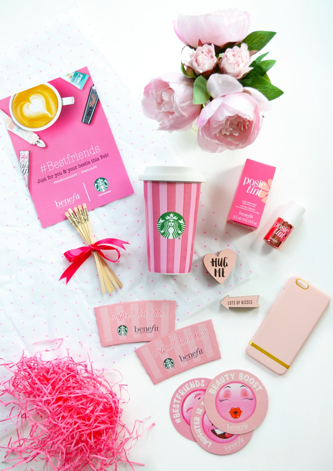 benefit and starbucks free coffee