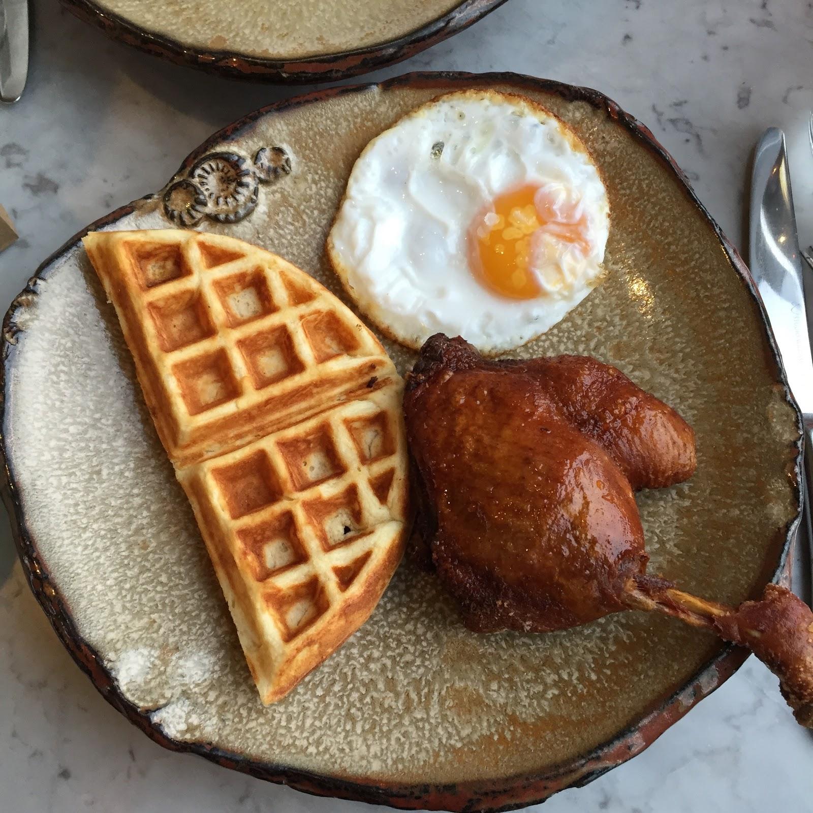 Duck & Waffle in london