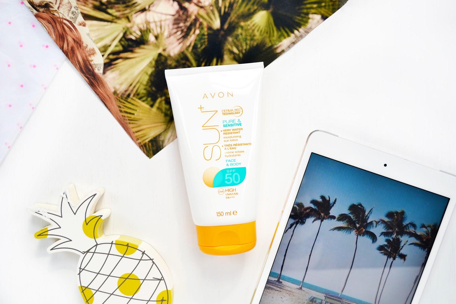 avon sun cream for sensitive skin