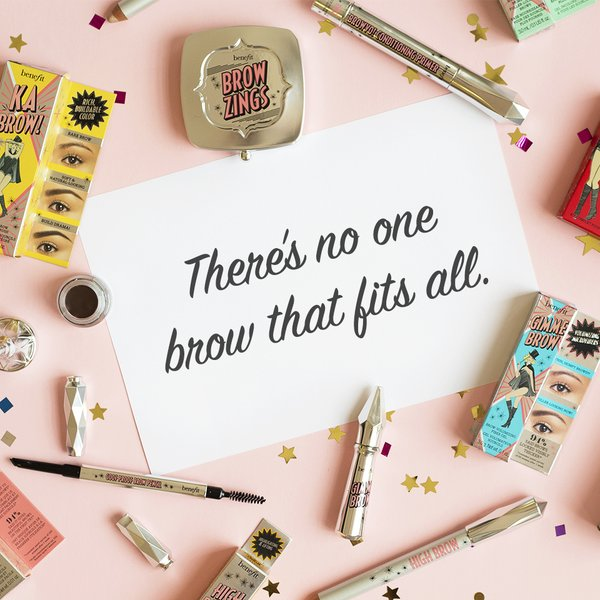 Benefit biggest brow collection