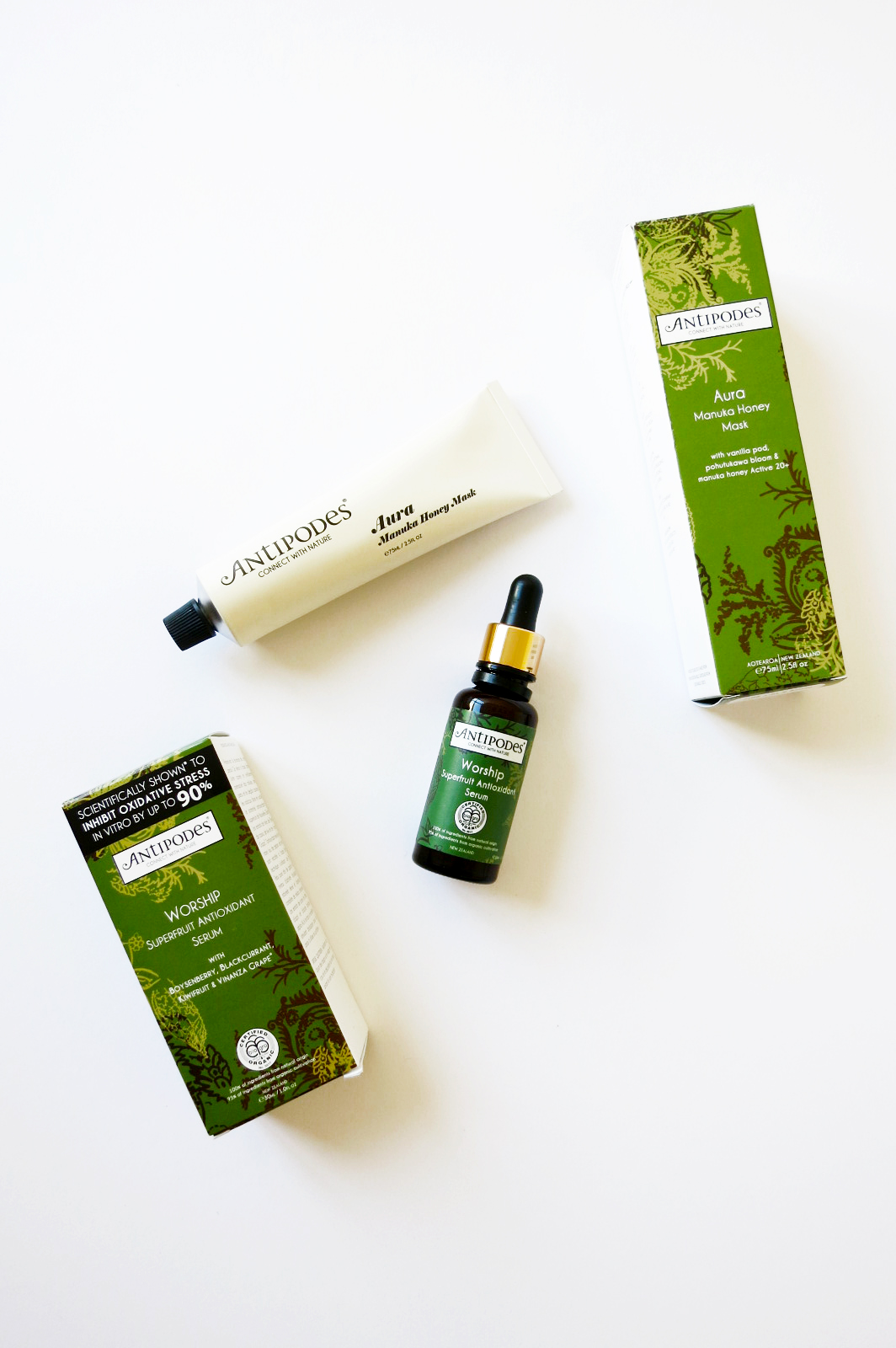 My 3 Favourites From Antipodes Skincare