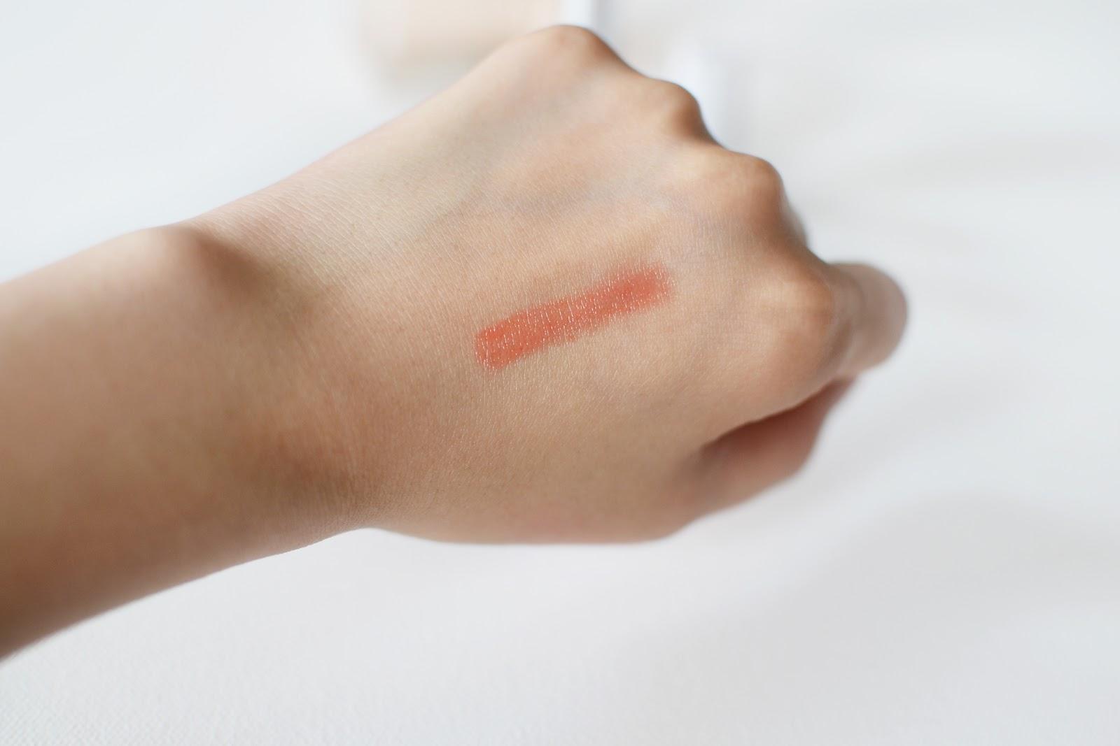 lancome shine lover lipstick in amuse bouche swatch