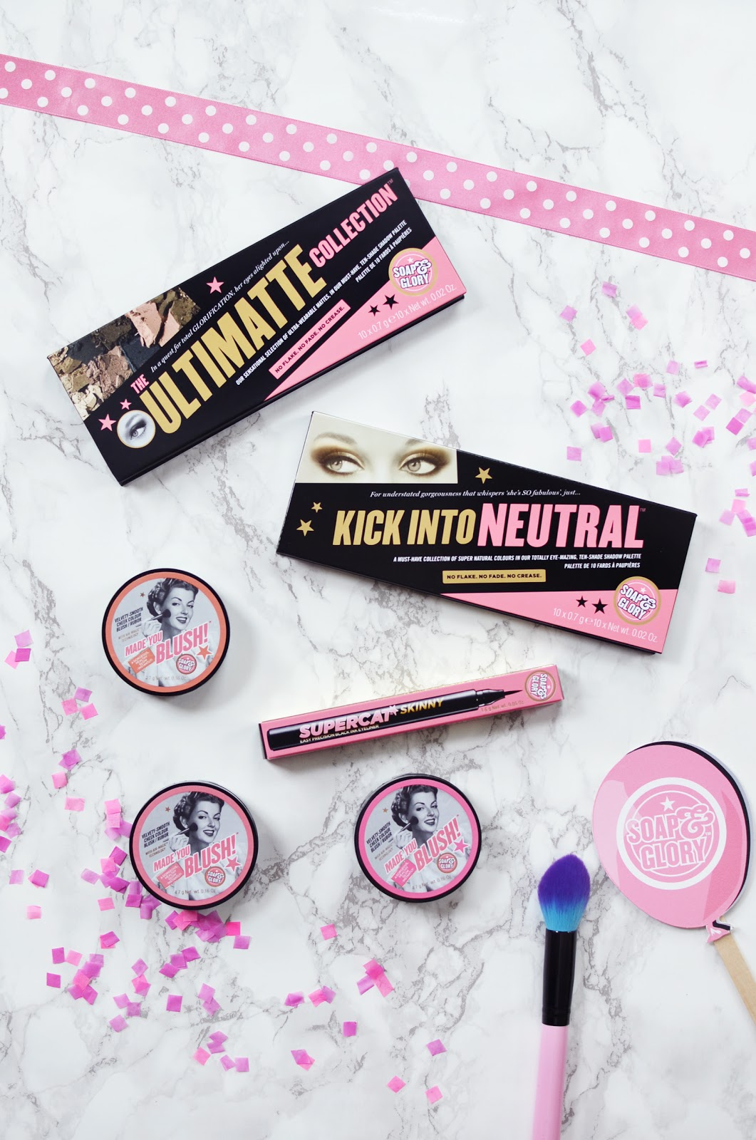 Soap and glory eyeshadow palette, soap and glory made you blush