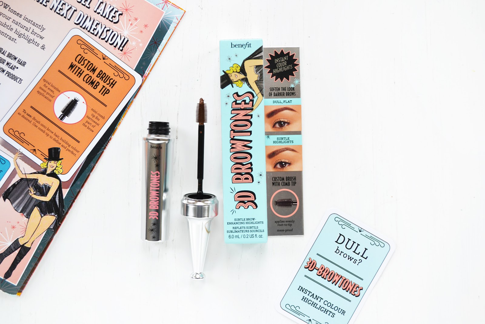 benefit cosmetics 3d browtones for dull brows