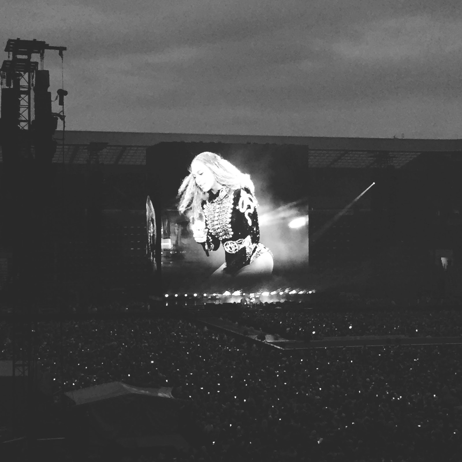 beyonce formation world tour at the stadium of light in sunderland