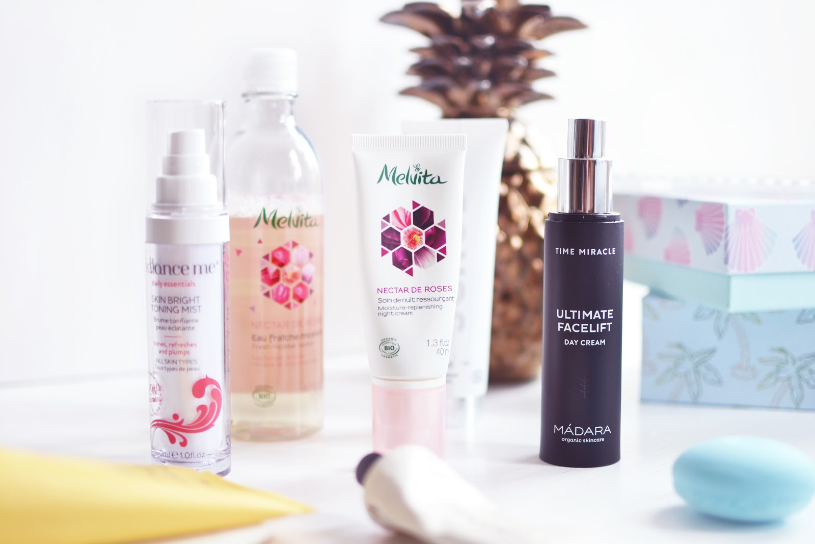 beauty blogger skincare routine for summer
