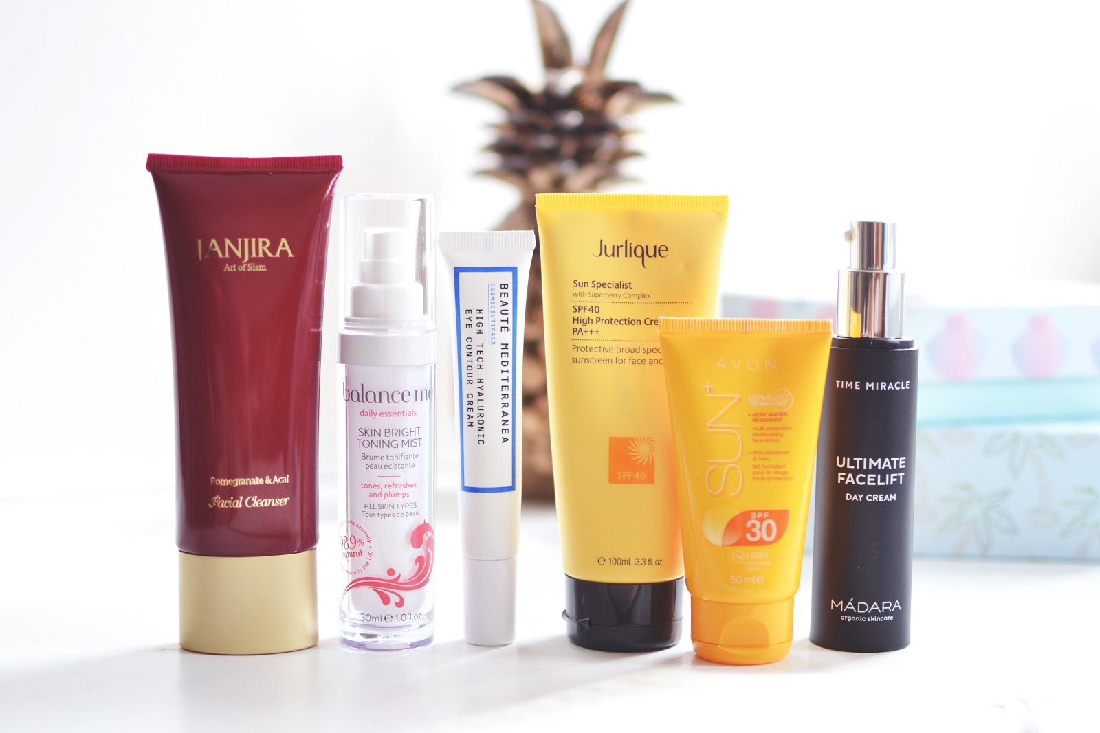 beauty blogger morning skincare routine