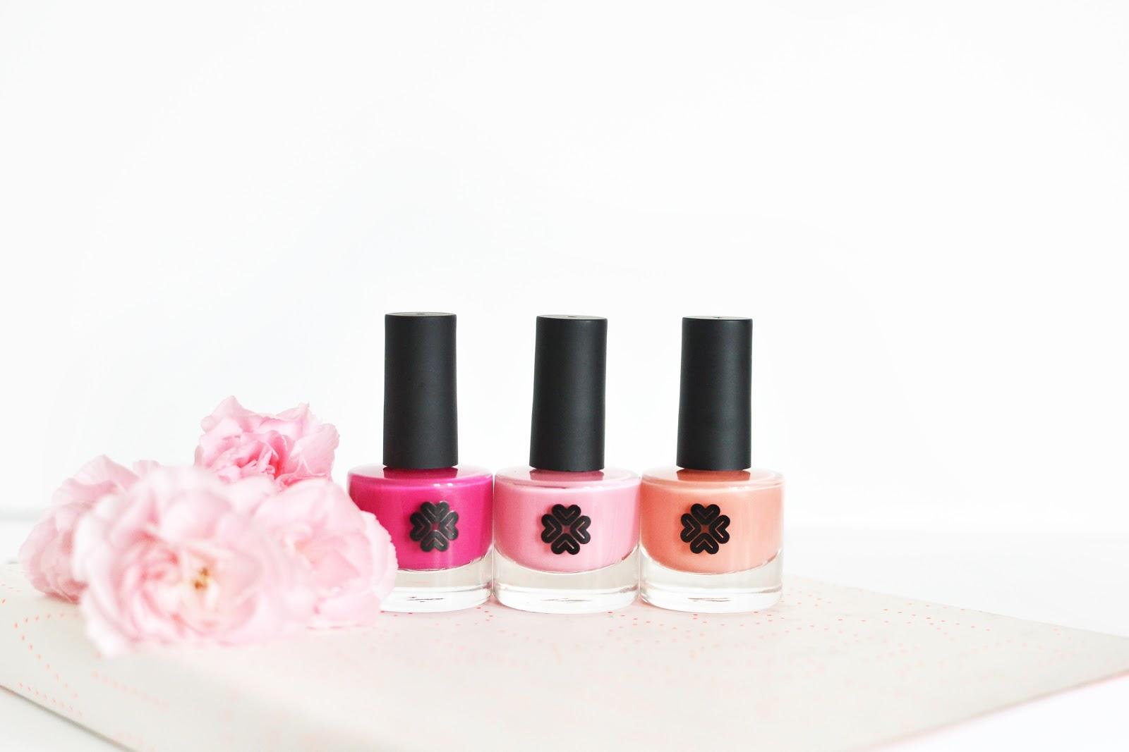 lily lolo 8-free formula nail polish, pink nail polishes
