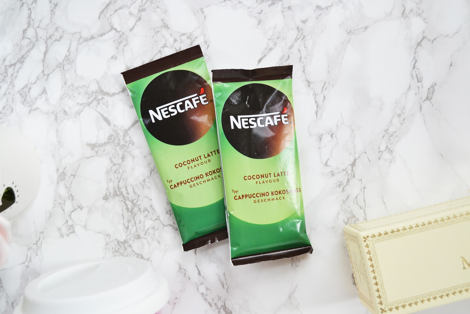 nescafe coconut latte