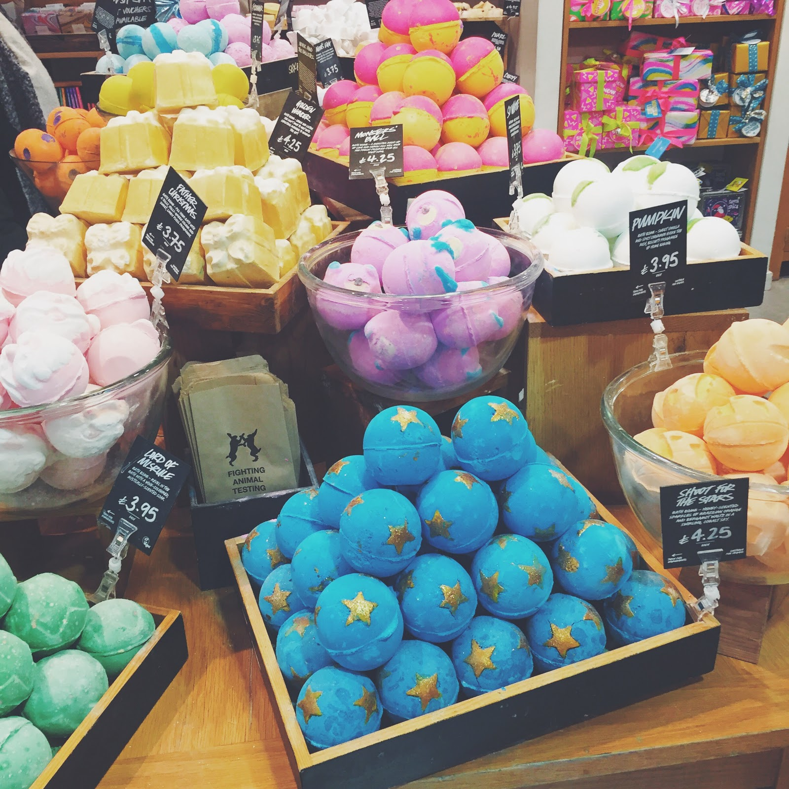 lush bath bombs autumn winter collection