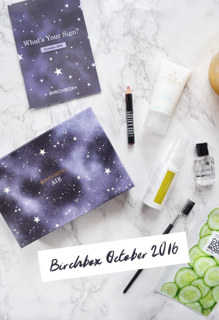 Birchbox Star Sign Edition