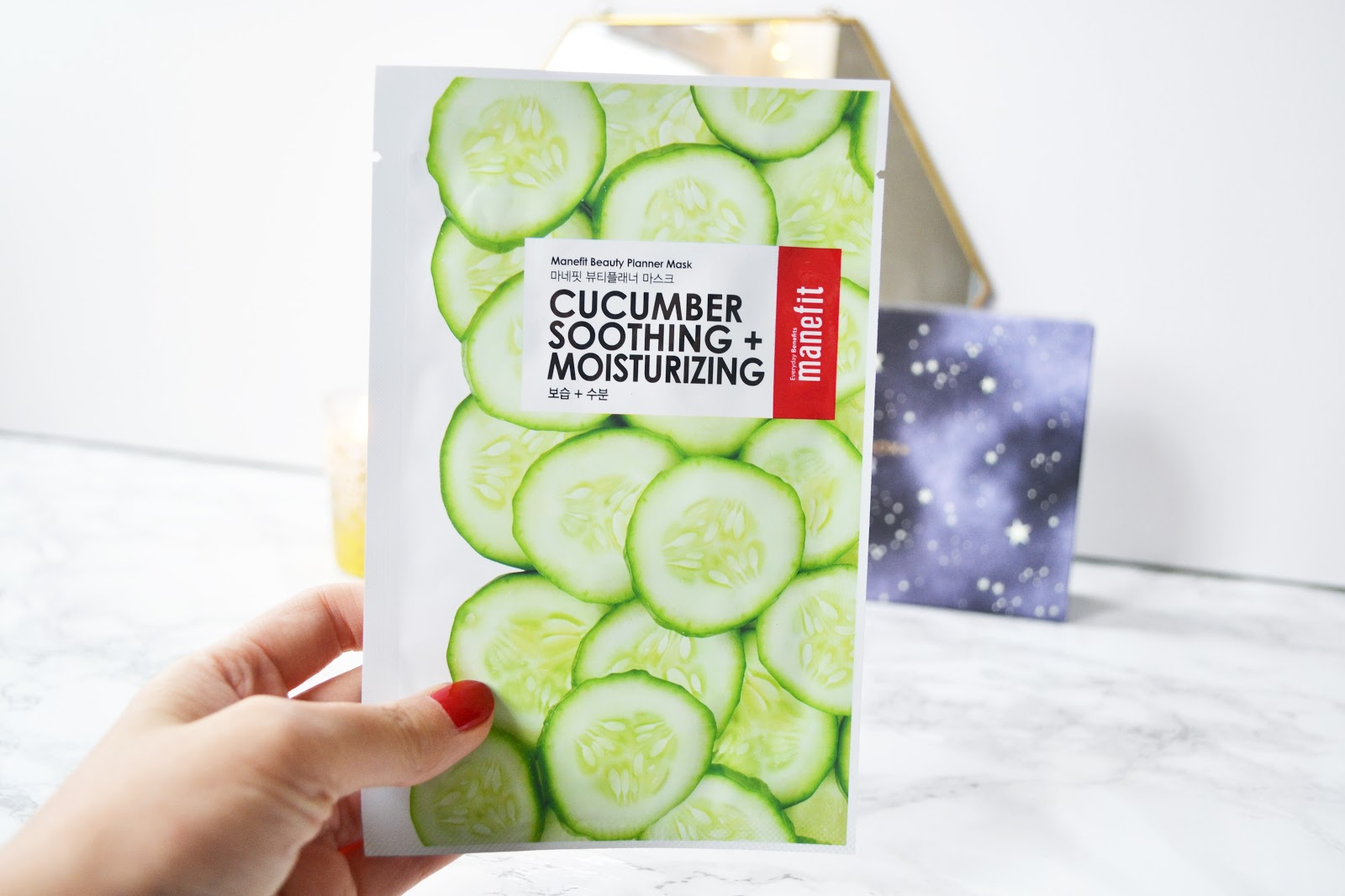 Manefit Cucumber Soothing + Moisturizing Sheet Mask